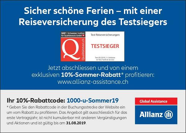 Testsieger Allianz Assistance